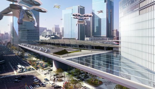 「空飛ぶ車(スカイカー)」と「人が乗れるドローン」!空の移動革命